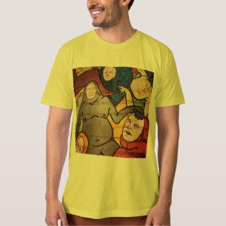 Strange Beings Mural Men's T Shirt