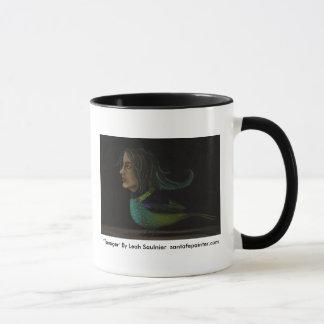 """Strange_Bird[1], """"Tanager"""" By Leah Saulnier  sa... Mug"""