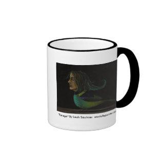 Strange_Bird 1 Tanager By Leah Saulnier sa Coffee Mug