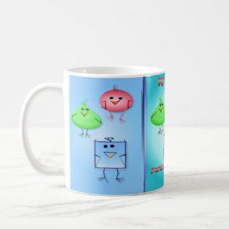 Strange Birds Family Coffee Mug