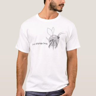 Strange Bug - Gray T-Shirt