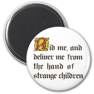 Strange Children 2 Inch Round Magnet