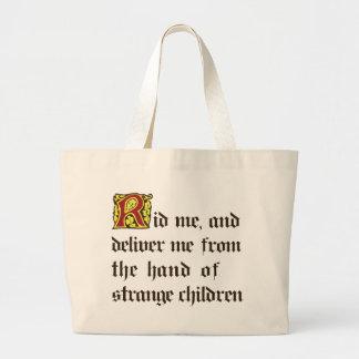 Strange Children Large Tote Bag