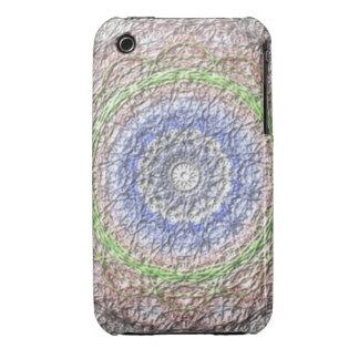 Strange circle pattern Case-Mate iPhone 3 case