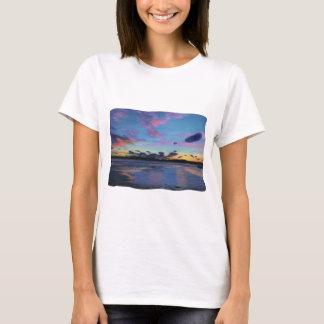 strange clouds at sunset T-Shirt