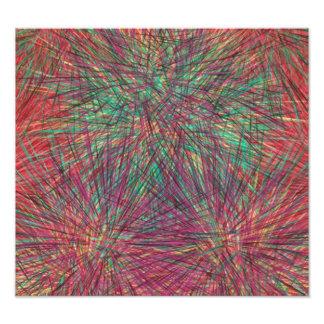 Strange colorful pattern photo