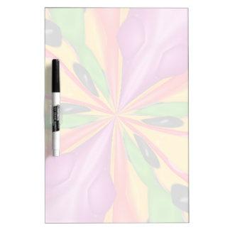 Strange colorful unique pattern Dry-Erase board