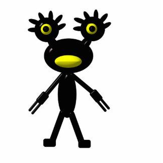Strange creature statuette