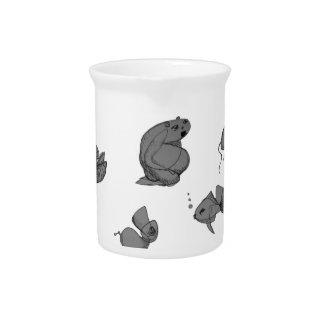 strange creatures beverage pitchers