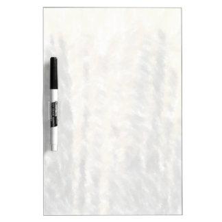 Strange different pattern dry erase board