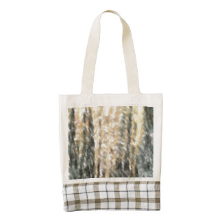 Strange different pattern zazzle HEART tote bag