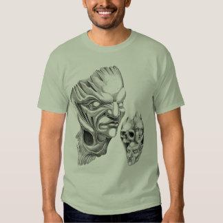 strange face shirt