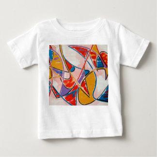 Strange Fish-Abstract Art Hand Painted Baby T-Shirt
