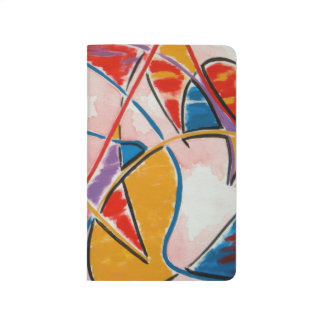 Strange Fish - Abstract Art Hand Painted Journal