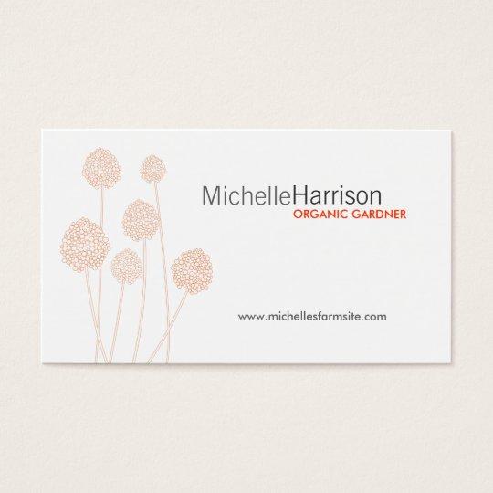 STRANGE FLOWERS Business Card