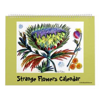 Strange Flowers Calendar