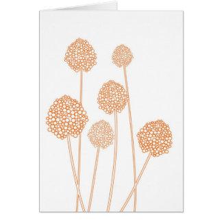 STRANGE FLOWERS Notecard Greeting Cards