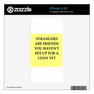 strange friends decal for the iPhone 4