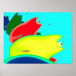 Strange Fruit Fine Fractal Art Poster