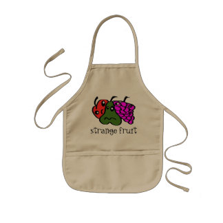 strange fruit kids' apron