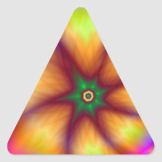 Strange Fruit Triangle Sticker