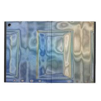 Strange garage door pattern cover for iPad air