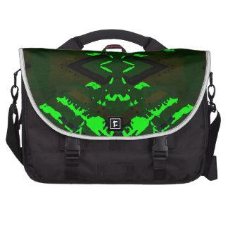 Strange Green Alien Design Bags For Laptop