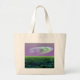 Strange Land on a Strange Day 2 - CricketDiane Jumbo Tote Bag