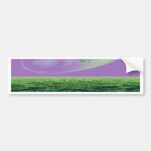Strange Land on a Strange Day 2 - CricketDiane Bumper Sticker