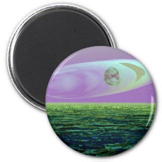 Strange Land on a Strange Day 2 - CricketDiane Fridge Magnets
