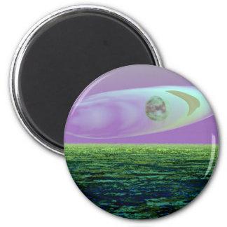 Strange Land on a Strange Day 2 - CricketDiane Refrigerator Magnets