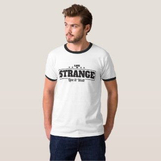 Strange Life Men's Ringer T-Shirt