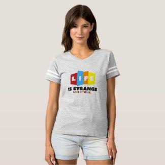 Strange Life Women's Football T-Shirt