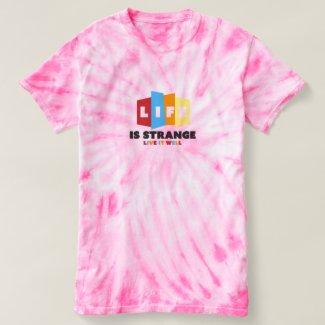 Strange Life Women's Tie-Dye T-Shirt
