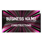 Strange light on abstract pattern Double-Sided standard business cards (Pack of 100)