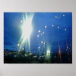 Strange lights of the night poster