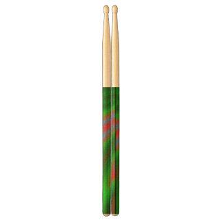 Strange line pattern drumsticks