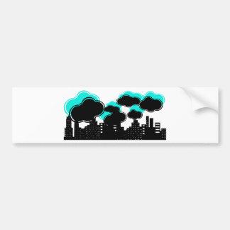 Strange Little City Bumper Sticker