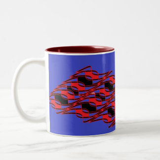 Strange maddness Two-Tone coffee mug