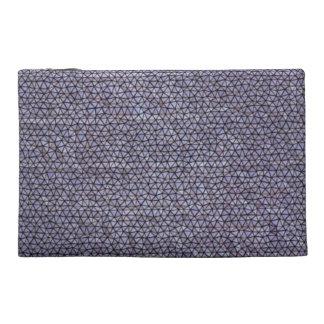 Strange mosaic pattern travel accessory bag