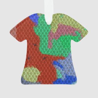 Strange mosaic pattern ornament