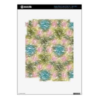 strange multicolored pattern iPad 3 skins