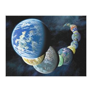 Strange New Worlds Canvas Print