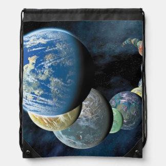 Strange New Worlds Drawstring Bag