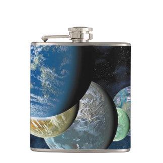 Strange New Worlds Hip Flask