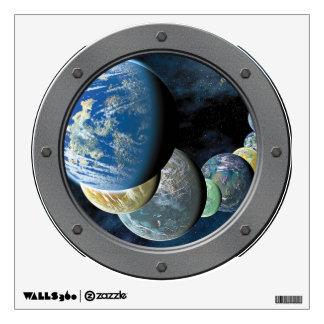 Strange New Worlds Porthole Wall Sticker