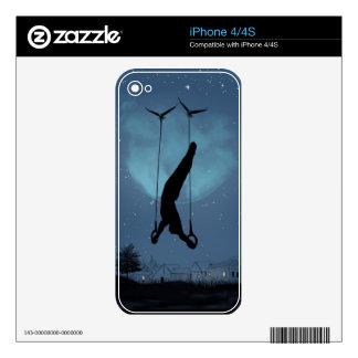 strange night iPhone 4S skin