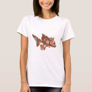 Strange Orange-White Spotted Catfish T-Shirt