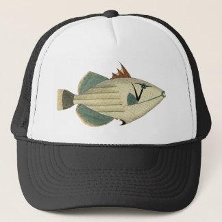 Strange Pale Fish Trucker Hat