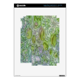 Strange patter of apple tree decal for iPad 3